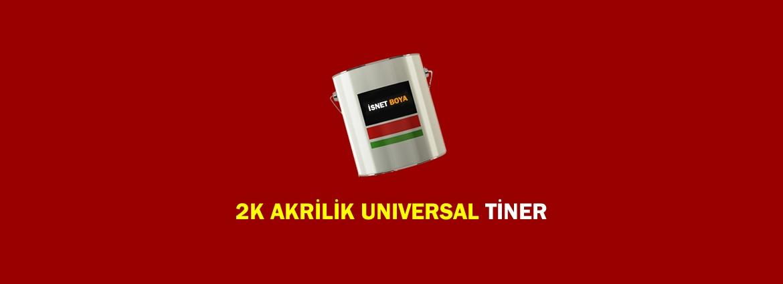 2K Akrilik Universal Tiner